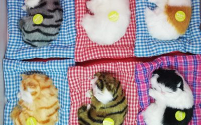 Simulation Toy as Sleeping Cat